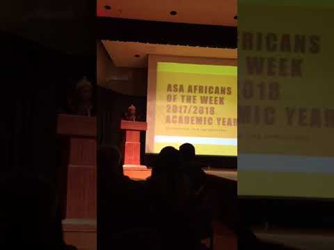 Excerpt Of Presentation On Young African Leadership