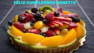 Genette   Cakes Pasteles