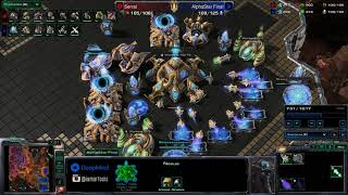 AlphaStar vs Serral - Game 2