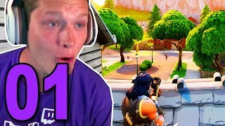 MY FIRST GAME! - FORTNITE BATTLE ROYALE PART 1