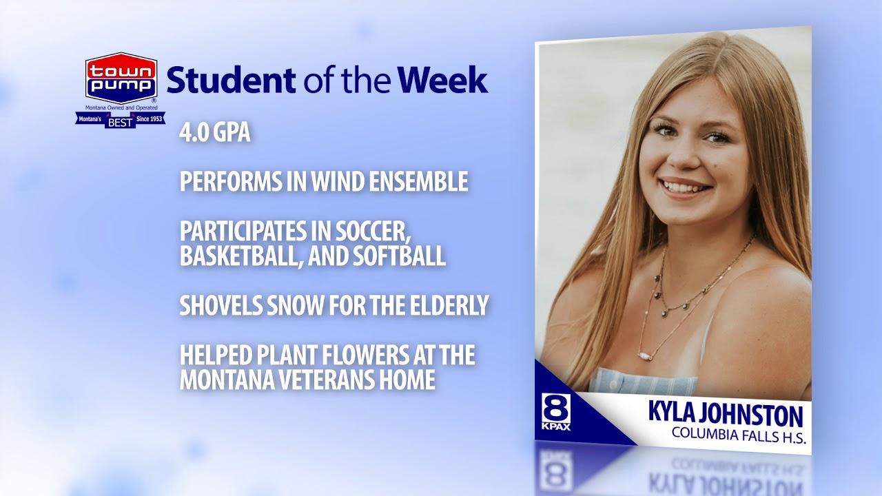 Student of the Week: Kyla Johnston