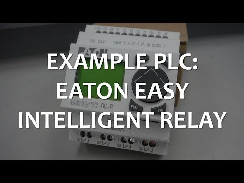 Example PLC: EATON EASY Intelligent Relay (Full Lecture)