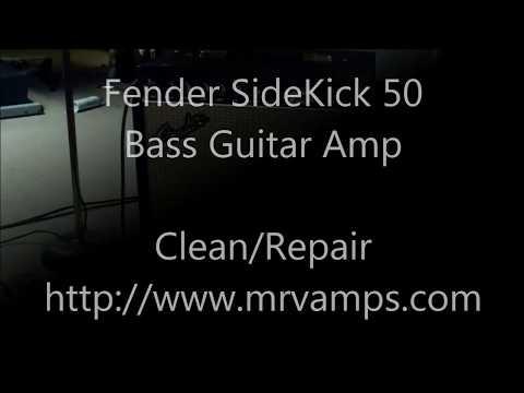 Fender Sidekick B 50 Repair and Restore on