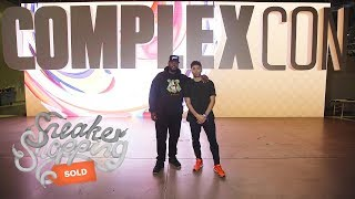 Exclusive: Sneaker Shopping At ComplexCon With DJ Clark Kent