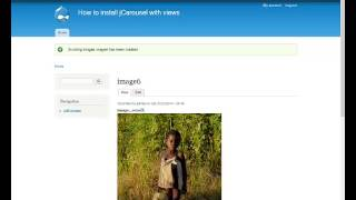install drupal image scroller with jCarousel and views.