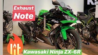 2019 kawasaki ninja zx 6r stock exhaust sound