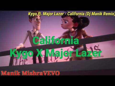 Kygo Ft. Major Lazer - California (DJ Manik Remix)Animated Version | Manik Mishravevo Official Video