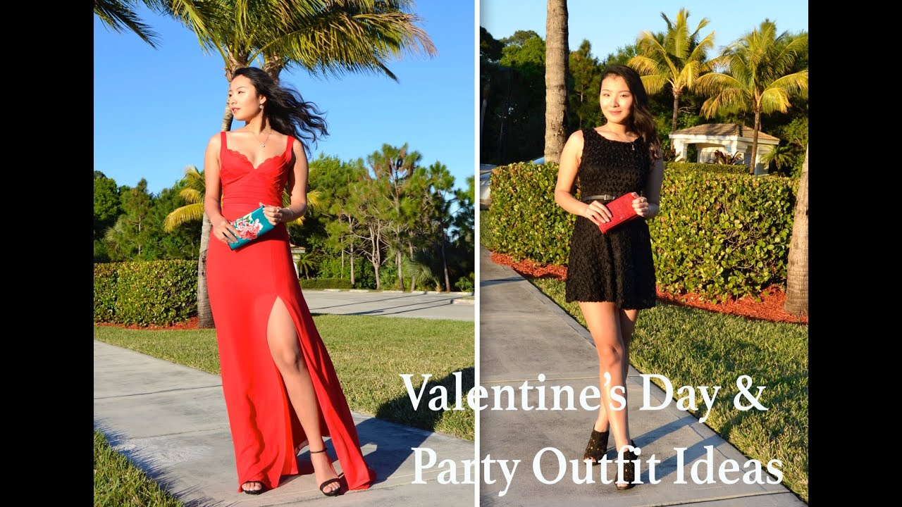 Valentine S Day Party Outfit Ideas Rose Coco Youtube