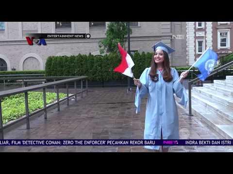 Tasya Kamila Lulus Dari Pendidikan S2 Di Universitas Columbia, Amerika Serikat