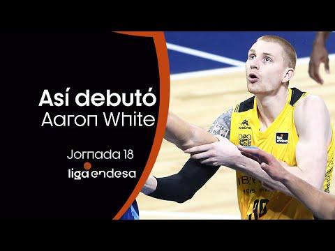 AARON WHITE se presenta con el Iberostar Tenerife: 13 puntos | Liga Endesa 2019-20