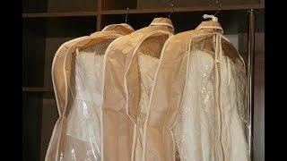 Свадебные платья в чехле