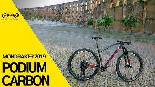 MONDRAKER PODIUM CARBON 2019 bicicleta Cross Country competicion con Forward Geometry A ...