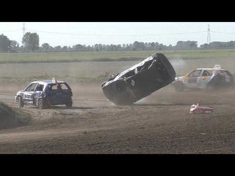 Autocross Winsum 22-9-2019 Crashes