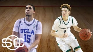 LiAngelo and LaMelo Ball sign with pro team in Lithuania | SportsCenter | ESPN