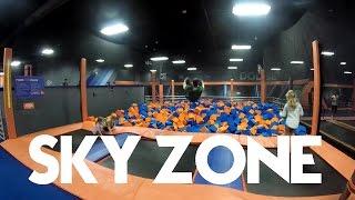 sky zone trampoline park   daytona beach fl