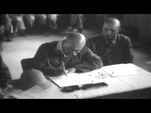 WW2 Japanese Surrender Chihkiang, China 08/22/1945 (full)