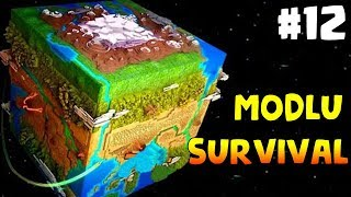 Dünyanın Sonu Minecraft Modlu Survival Bölüm12 - DEXTER39;IN LABORATUVARI (Steve39;s Galaxy Modpack)