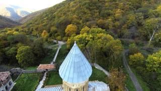 Kvatakhevi, medieval Georgian Orthodox monastery.  ქვათახევი. Кватахеви