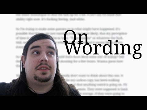 On Wording