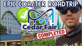 Completing the Cedar Fair Gauntlet - Epic Coaster Roadtrip: Week 1