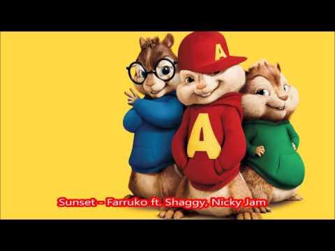 Sunset  Farruko ft  Shaggy, Nicky Jam - Alvin y las ardillas
