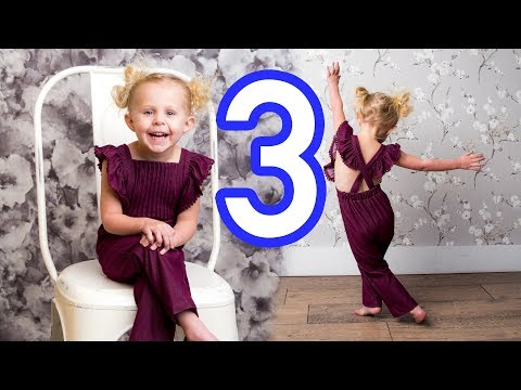 CUTEST 3 year old Pictures!! Is she a model?