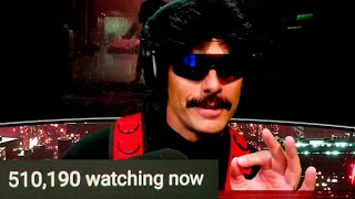 DrDisrespect Speaks on Twitch Ban In Front of 510k Viewers!