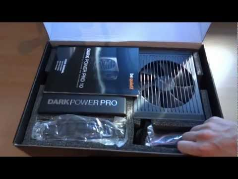 be quiet! Dark Power Pro P10 1000W Power Supply Unboxing and First Look
