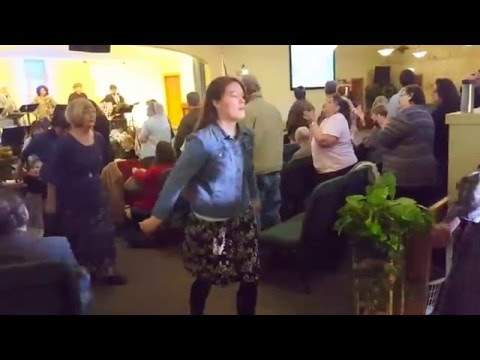 Dancing at Rehoboth Messianic Congregation