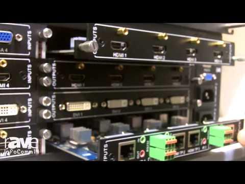 InfoComm 2014: KanexPro HDBaseT & Modular Matrix Switchers