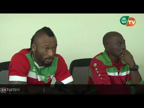 CONFERENCE DE PRESSE AFRICA SPORTS AVANT SUPER COUPE HOUPHOUET BOIGNY