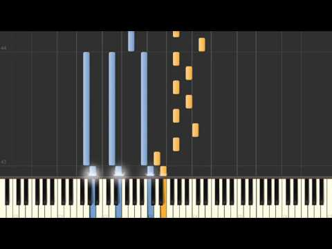 Chemical (Kerli) - Synthesia piano tutorial