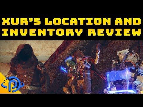 Xûr Sees an Update | Forsaken Exotics Inbound