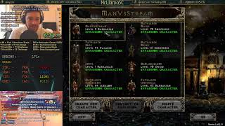[Man Vs Stream] Diablo 2 - HELL BARBARIAN