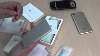 Xiaomi power bank на 5000 і 16000 маг. Не огляд, а інформація