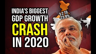 India's Biggest GDP Growth Rate Crash in 2020 || Is Indian Economy Moving Towards Recession?