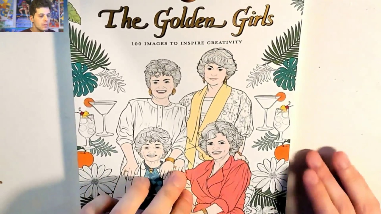 Golden Girls Coloring Book Live Stream Youtube