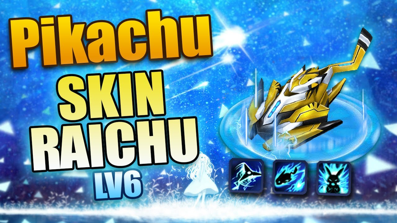 BangBang – Pikachu Skin Raichu Lv6