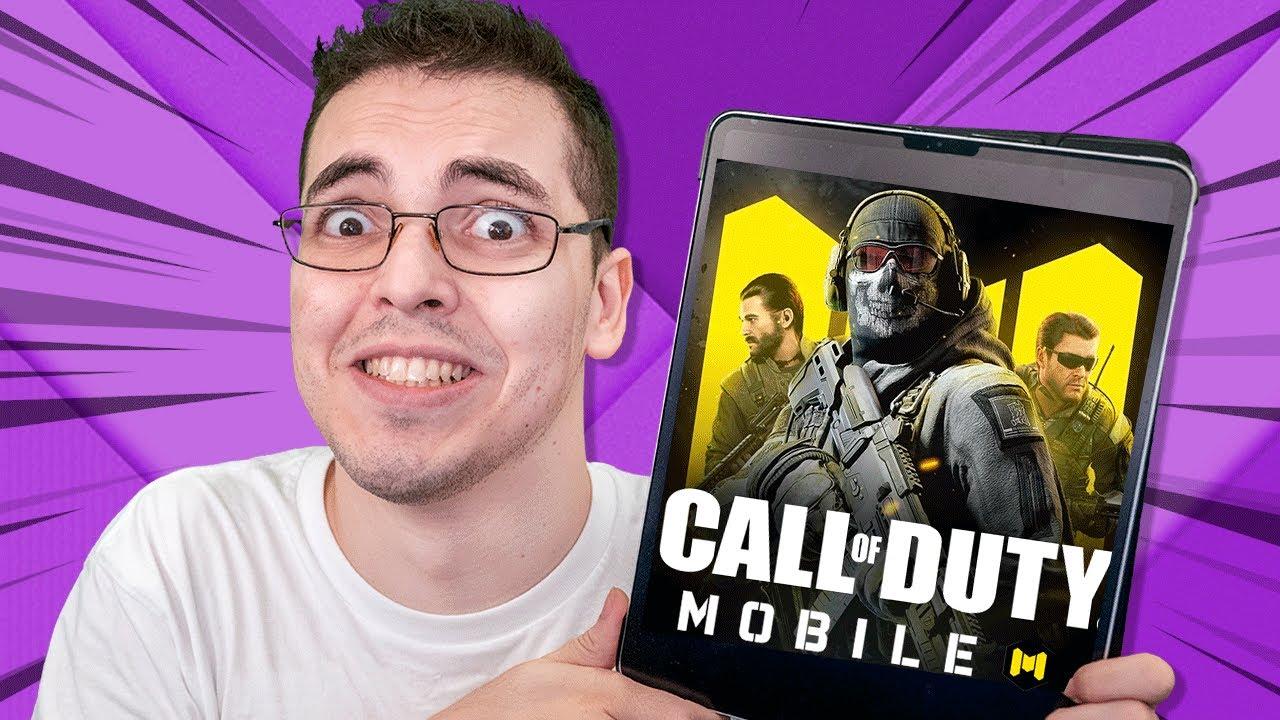 O NOVO CALL OF DUTY PARA CELULARES - Call of Duty Mobile
