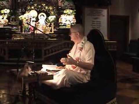 "Romapada Swami Lecture - ""Taking Shelter of Krishna"""