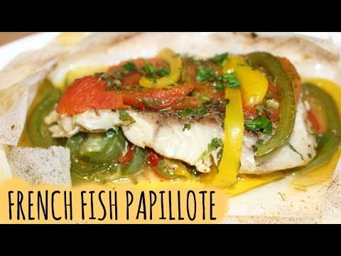 FRENCH FISH PAPILLOTE - HANAEL CUISINE