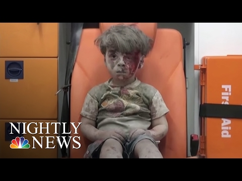 Aleppo's Children: What Life Is Like For Children In War-Torn Syria | NBC Nightly News
