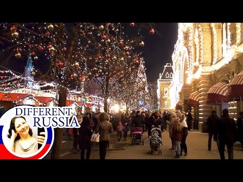 Moscow, Red Square 2017. Entertainment and Fun for Ordinary People on #DifferentRussia Channel