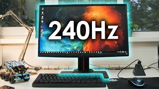 GAMING at 240Hz ... My Experience!