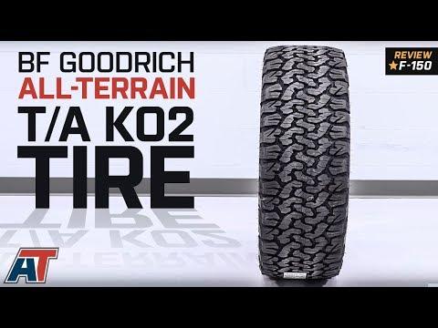 "1997-2018 F150 BF Goodrich All-Terrain T/A KO2 Tire 29"" to 35"" Diameters Review"