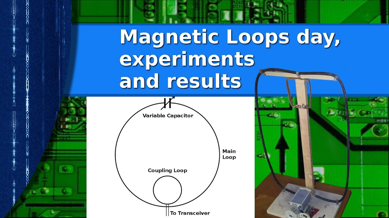 Ham Radio Antennas Magnetic Loop Experiments Observations And 6 X Antenna Results