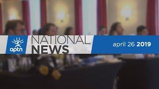 APTN National News April 26, 2019 – Human Rights Tribunal, Jody Wilson-Raybould