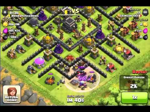 Clash of Clans | Forum Mano A Mano - Ryan vs ss(Me)