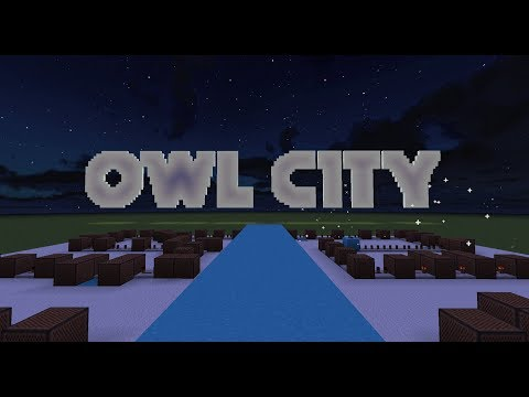 Owl City - Fireflies [Minecraft Noteblocks]