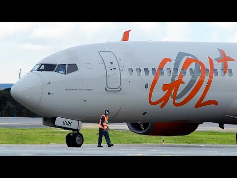 Boeing 737 8 Airplane Take Off Video